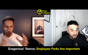 Do Extravagant Employee Perks Matter? (Ft. Gregarious Narain)