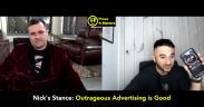 Should Advertising be Outrageous? (Ft. Nick Palmisciano (CEO, Diesel Jack Media)