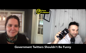 Should Government Twitter Accounts be Funny? Ft Pearl Gabel (Digital Dr , State of NJ)